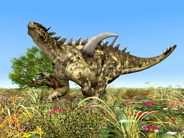 Dinosaur Gigantspinosaurus Stock photo © MIRO3D