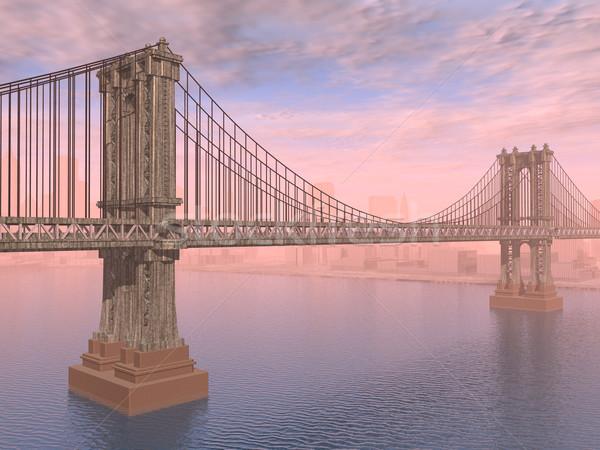 Manhattan Bridge Stock photo © MIRO3D