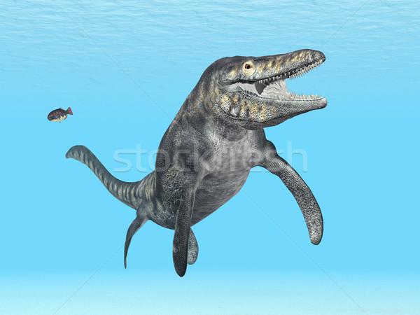 Számítógép generált 3d illusztráció természet óceán állat Stock fotó © MIRO3D