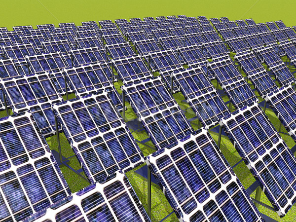 Solar Power Plant Stock photo © MIRO3D