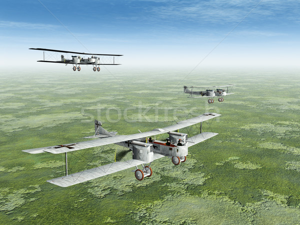 German Heavy Bomber Gotha Stock photo © MIRO3D