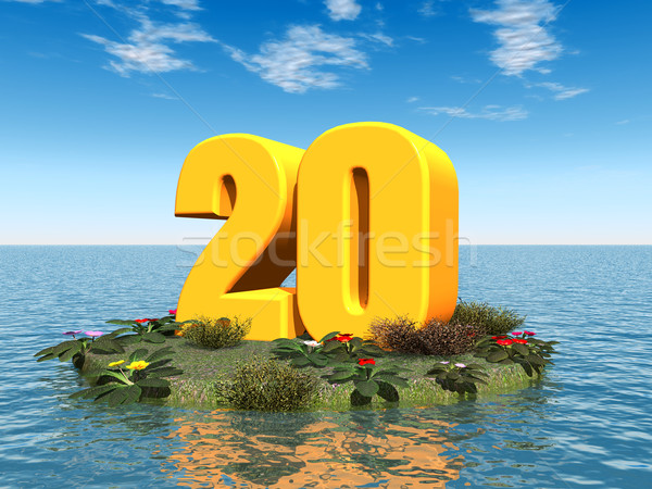 The Number 20 Stock photo © MIRO3D
