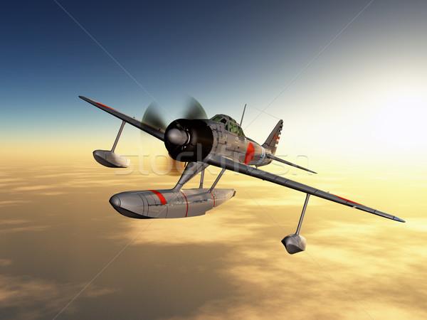 Japanese Fighter Bomber Stock photo © MIRO3D