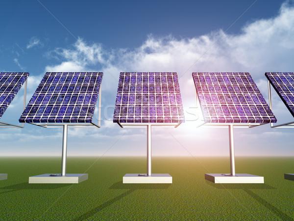 Solar Power Plant Stock photo © MIRO3D