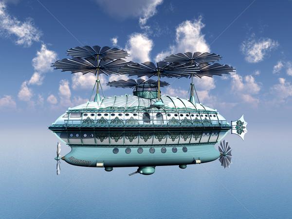 ファンタジー コンピュータ 生成された 3次元の図 海 海 ストックフォト © MIRO3D
