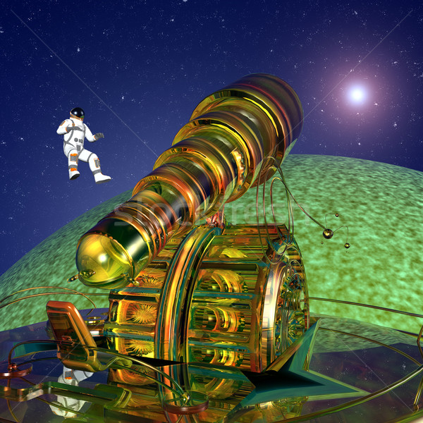 The Exploration of Space Stock photo © MIRO3D