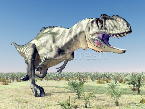 Dinosaur Yangchuanosaurus Stock photo © MIRO3D
