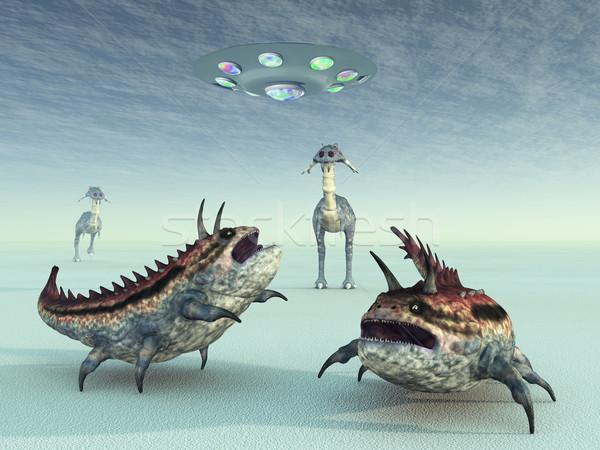 Extraterrestrial Life Stock photo © MIRO3D