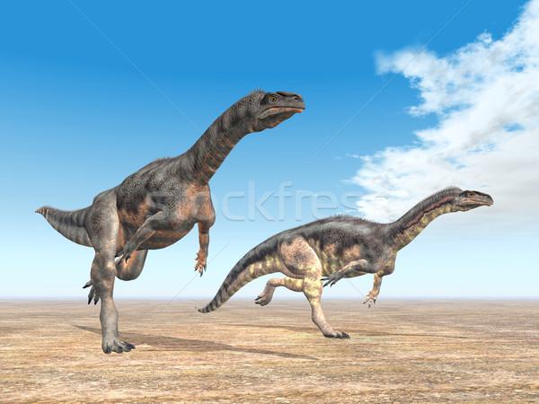 Dinosaur Plateosaurus Stock photo © MIRO3D