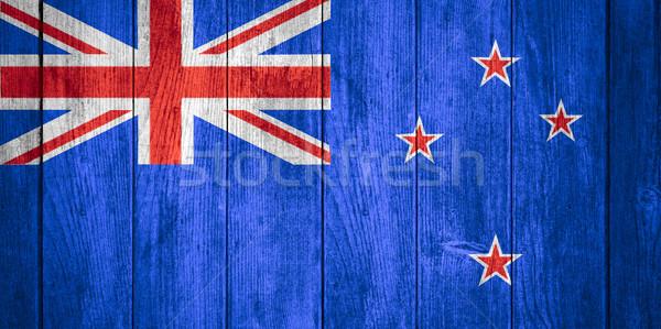 флаг Новая Зеландия баннер текстуры фон Сток-фото © MiroNovak