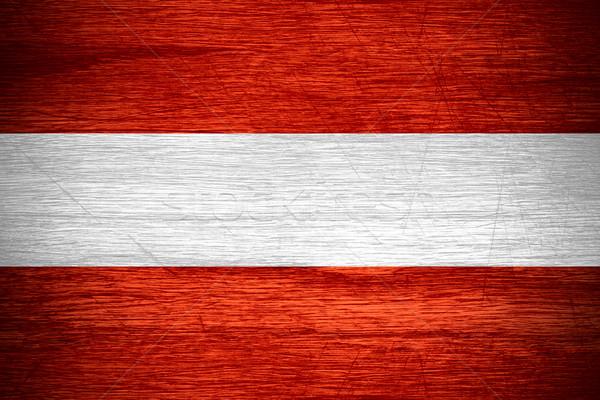 flag of Austria Stock photo © MiroNovak