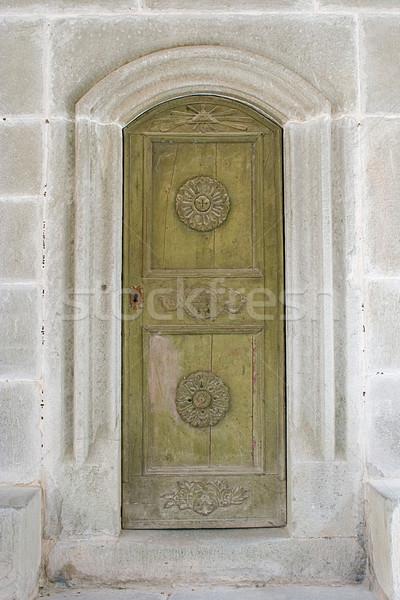 old romance door Stock photo © MiroNovak