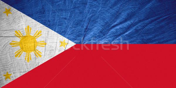 flag of the Philippines Stock photo © MiroNovak