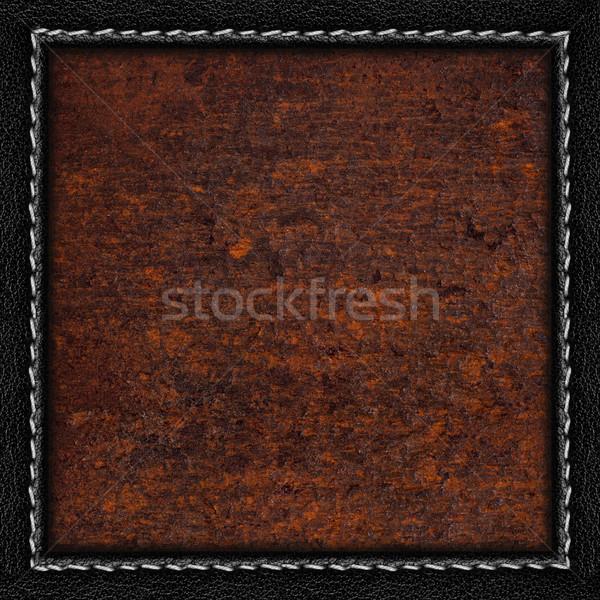 rust metal sheet background Stock photo © MiroNovak