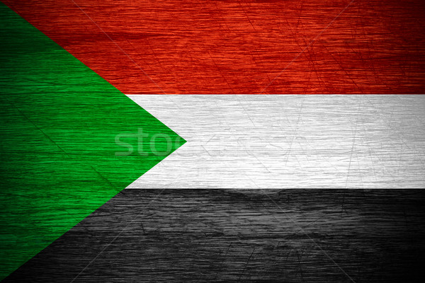 flag of Sudan Stock photo © MiroNovak