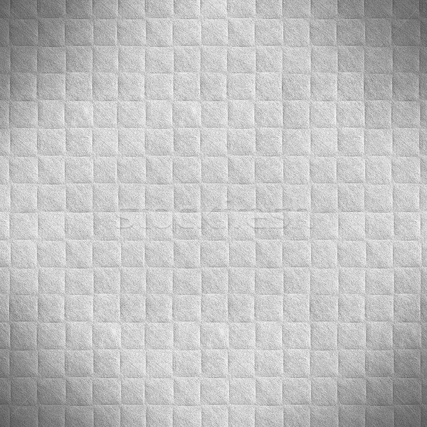 Branco cinza praça padrão textura papel Foto stock © MiroNovak