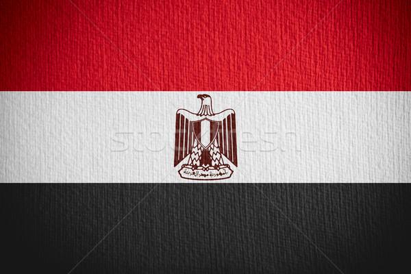 Zászló szalag papír textúra háttér Stock fotó © MiroNovak