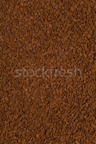 растворимый кофе зерна коричневый продовольствие текстуры кофе Сток-фото © MiroNovak