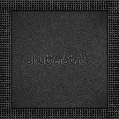 blue leather background Stock photo © MiroNovak