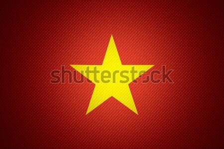 flag of Vietnam Stock photo © MiroNovak