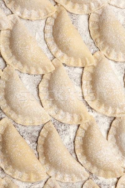 raw dumplings Stock photo © MiroNovak