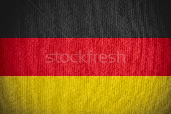 Germania bandiera banner carta texture Foto d'archivio © MiroNovak