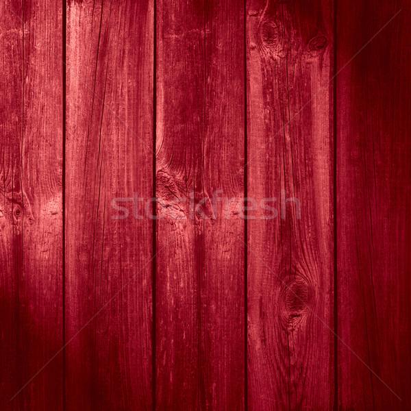Oude houten Rood organisch textuur Stockfoto © MiroNovak