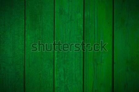 Oude houten groene organisch textuur Stockfoto © MiroNovak