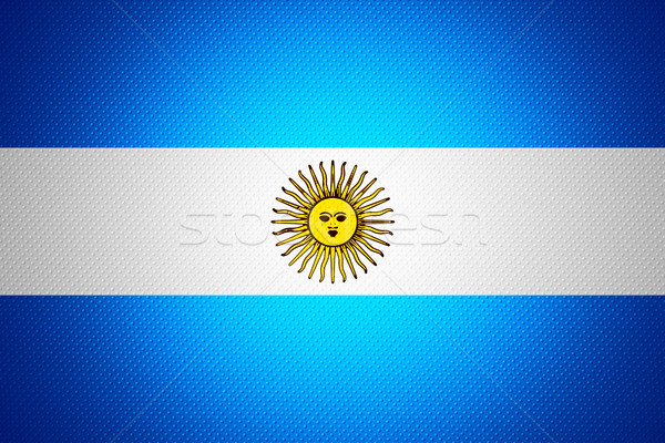 flag of Argentina Stock photo © MiroNovak