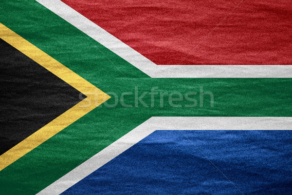 flag of South Africa Stock photo © MiroNovak