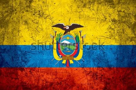 flag of Ecuador Stock photo © MiroNovak