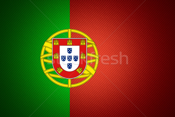 flag of Portugal Stock photo © MiroNovak