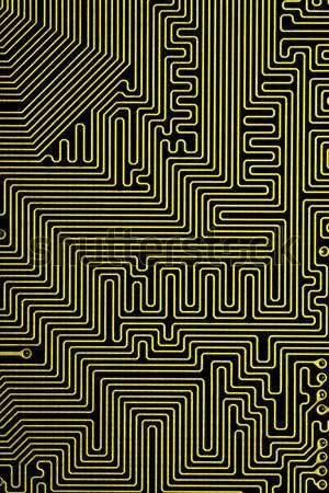 Czarno białe streszczenie komputera tekstury tabeli Zdjęcia stock © MiroNovak