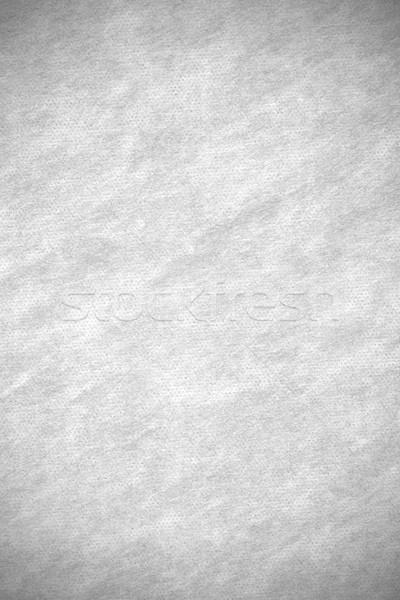 Abstract doek witte grid patroon textuur Stockfoto © MiroNovak