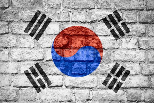 flag of South Korea Stock photo © MiroNovak
