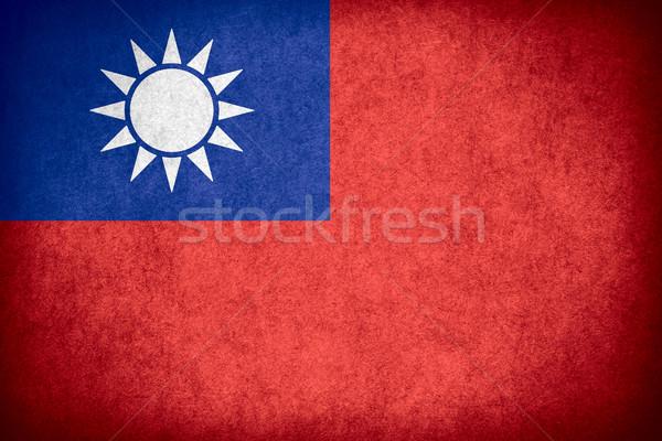 flag of Taiwan Stock photo © MiroNovak
