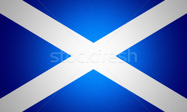 Bandeira escócia bandeira abstrato textura Foto stock © MiroNovak