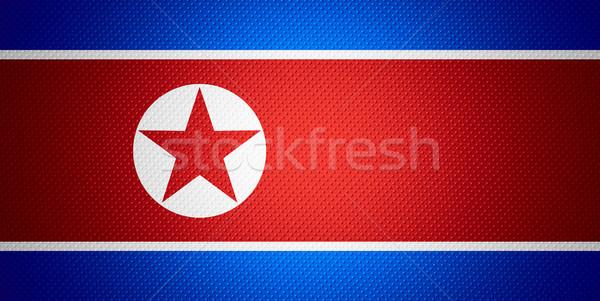 Zászló észak szalag absztrakt textúra Stock fotó © MiroNovak