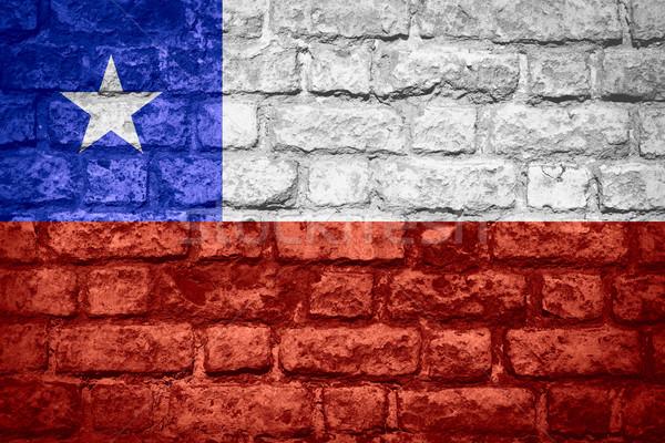 flag of Chile Stock photo © MiroNovak