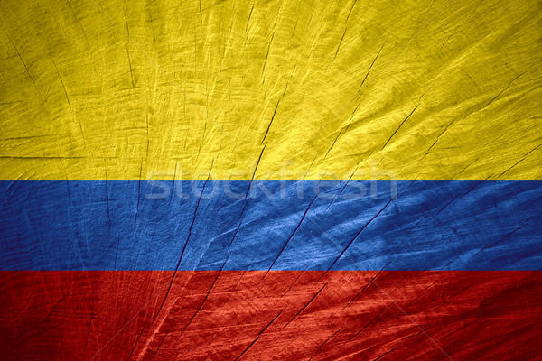flag of Colombia Stock photo © MiroNovak