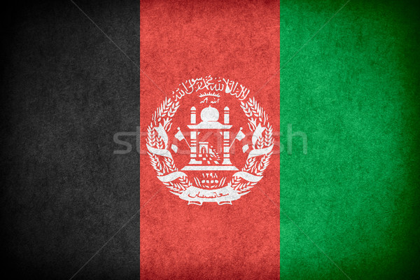 flag of Afghanistan Stock photo © MiroNovak