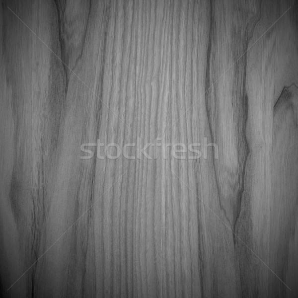 Nyers fa palánk fekete fából készült forgács Stock fotó © MiroNovak