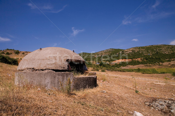 The old bunker in Albania Stock photo © MiroNovak