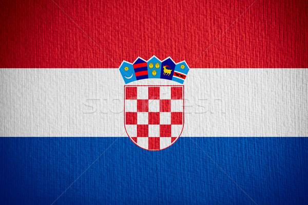flag of Croatia Stock photo © MiroNovak
