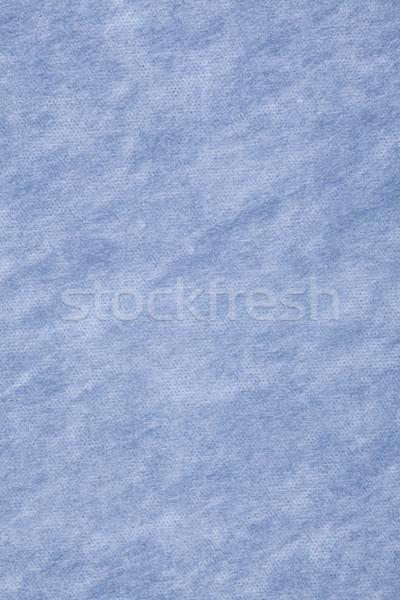 Mavi beyaz tuval ızgara model doku Stok fotoğraf © MiroNovak