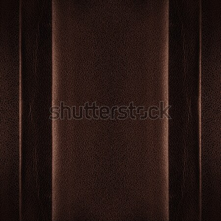 brown leather background Stock photo © MiroNovak