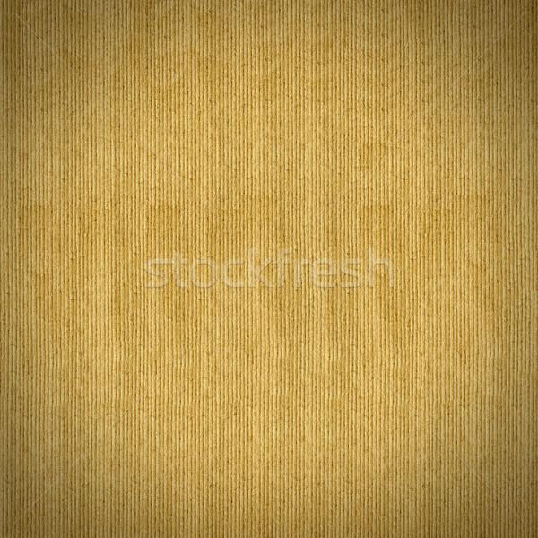 Carta marrone stripe pattern grezzo seppia texture Foto d'archivio © MiroNovak