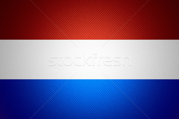 Vlag holland nederlands banner abstract textuur Stockfoto © MiroNovak