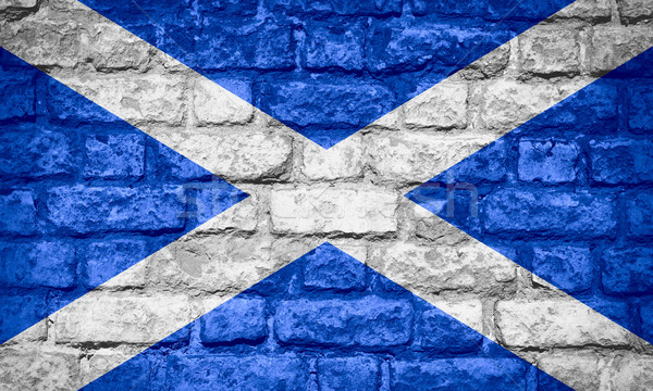 flag of Scotland Stock photo © MiroNovak