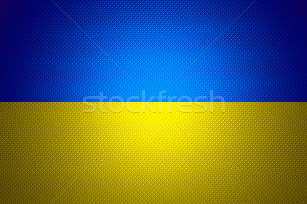 Bandeira Ucrânia bandeira abstrato textura Foto stock © MiroNovak